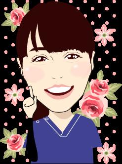 女性の似顔絵のイラスト2