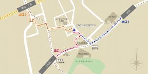 ベース地図(平面)